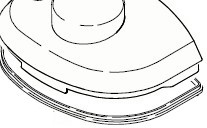 Karcher Lid seal for puzzi 10/1, 10/2, 100 & 200 waste lid