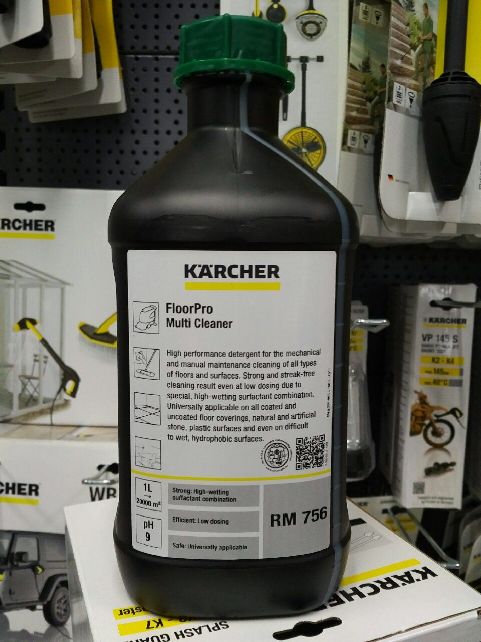 Karcher Rm756 Detergent For Karcher Floor Cleaners And